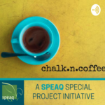 chalk.n.coffee:  An ESL Podcast for the Times