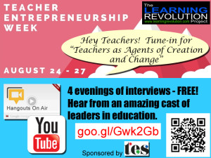 Teacher Entrepreneurship Week Tweet_Aug2015