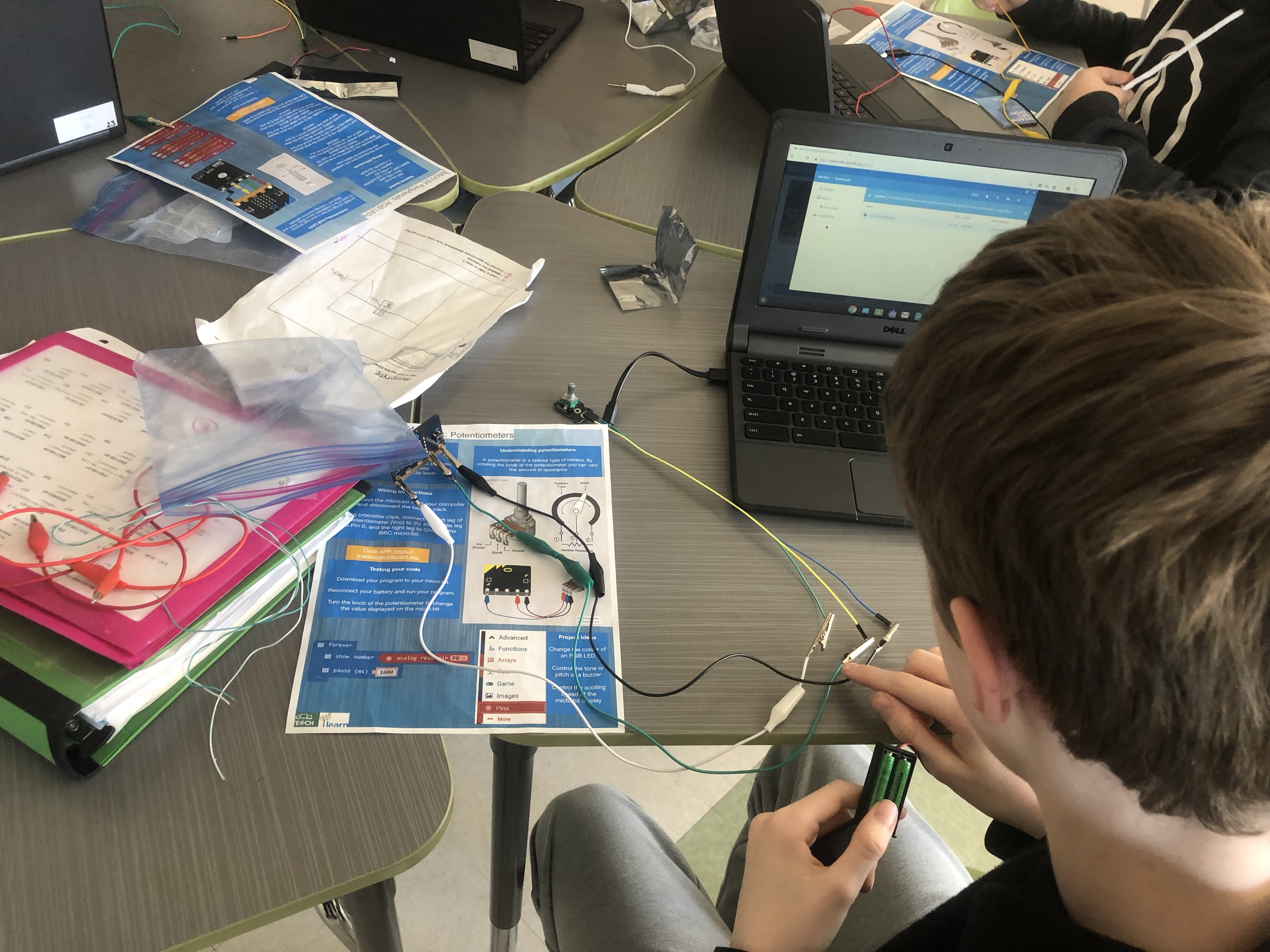 Micro:Bits at MacDonald High School – 2019 – LEARN's Open