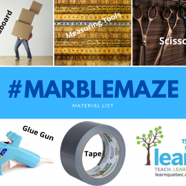 #MarbleMaze Activity Page • May 2020